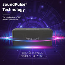 Tronsmart-Altavoz Bluetooth con asistente de voz, Mega Pro 60W, TWS, resistencia al agua IPX5, columna de cine en casa, NFC, Control EQ