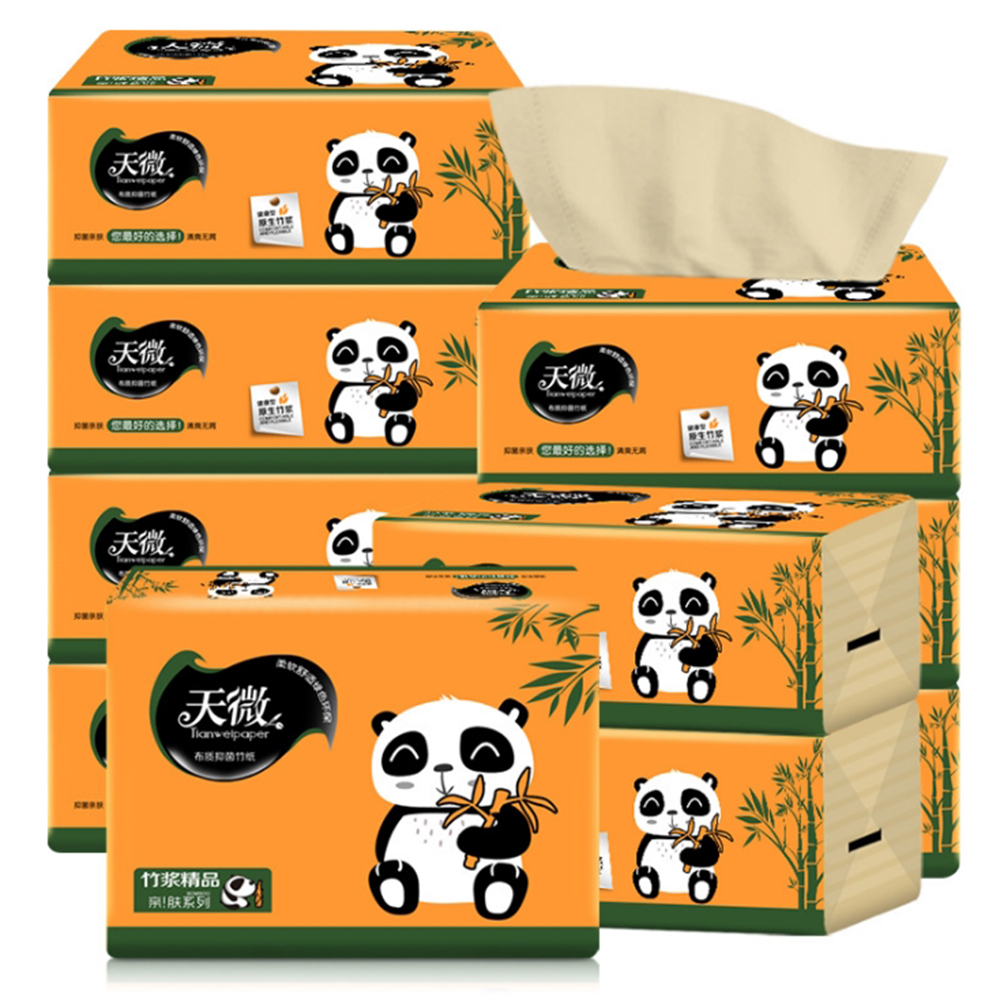Pumping Toilet Paper Towels Tissue Paper Napkins Pumping 12 Packs Of Paper Soft Skin-Friendly Paper Towels
