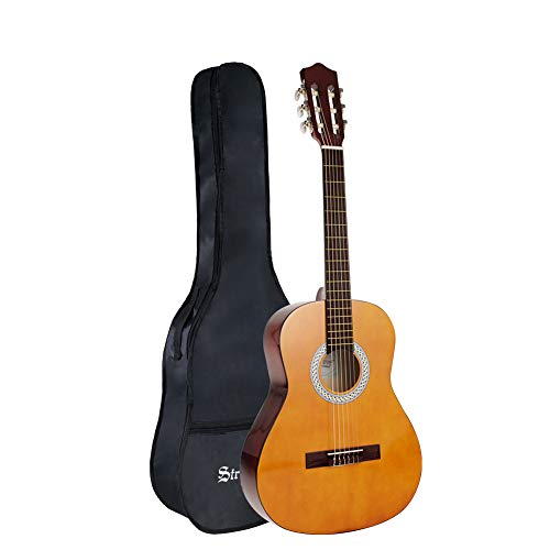 Strong Wind Classical Acoustic <font><b>Guitar</b></font> <font><b>36</b></font> Inch Nylon Strings <font><b>Guitar</b></font> Beginner Kit for Students Children Adult image