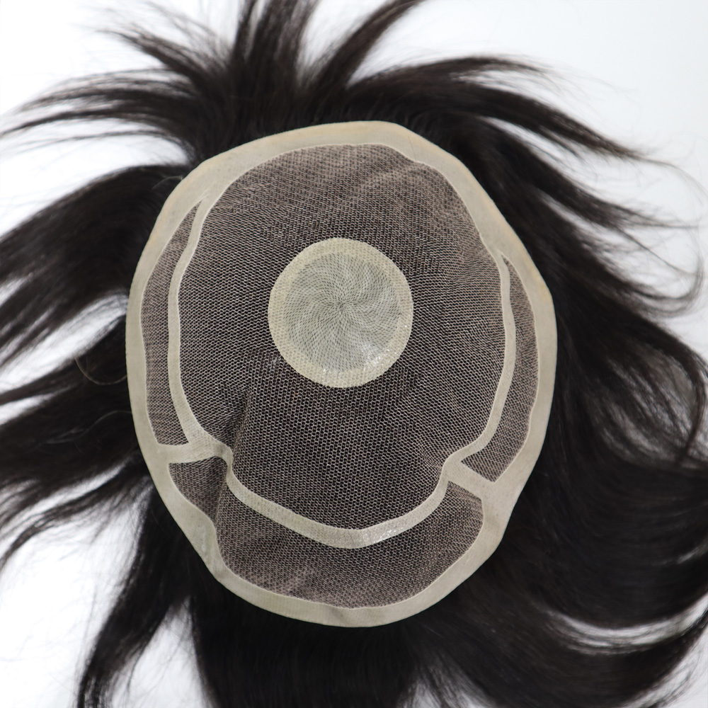 Semi Quality Clearance Sale 6 Inch Men Toupee Front