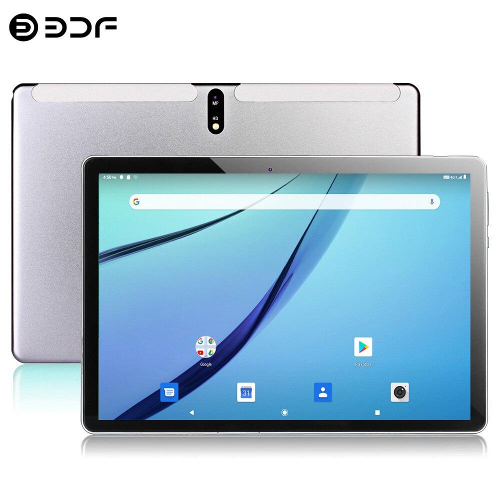 2020 chegada nova octa núcleo 4g lte comprimidos 10.1 polegada android 9.0 tablet pc google play duplo cartão sim gps wifi bluetooth 10 polegada