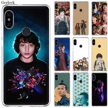 Mobile Phone Case For Xiaomi Redmi Note 4 4X 3 5 6 7 Pro 5A Hard Cover Mike Dans Stranger Things(China)