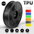 Filament d'impression 3D SUNLU Filament souple noir 1.75mm 0.5kg(1.1LB) précision dimensionnelle +/  0.02 MM Shore 95A Matériaux d'impression 3D     -
