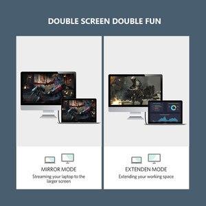 Image 2 - 2020 кабель CABLETIME DP в HDMI 4K/60 Гц, HDMI2.0 светодиодный конвертер Displayport для ноутбука, ПК, Macbook Air, Acer, Dell, кабель HDMI C313