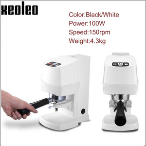 Image 2 - XEOLEO Electric Espresso coffee tamper automatic Flat Plated Base Press Coffee Grinder Coffee Bean Press Tools Coffee Accessorie