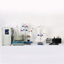 Buy Lab Equipment 2L Short Path Distillation Kit Complete Turnkey Package w/ Vacuum Pump & Chiller directly from merchant!