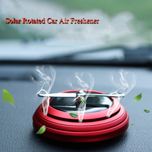 New Style Solar Rotated Car Air Freshener Perfume Aroma Diffuser Interior Fragrance Ornaments Accessories