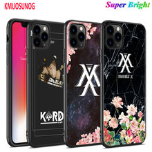 Black Silicone Case KPOP KARD MONSTA for iPhone 11 11Pro XS MAX XR X 8 7 6S 6 Plus 5S Gloss Phone Case Cover цена 2017
