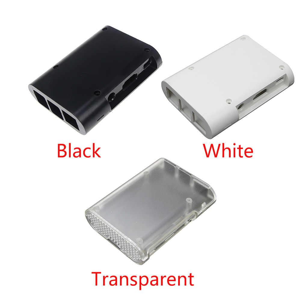 Praktyczne akcesoria łatwa w użyciu obudowa obudowa obudowa ochronna lekka obudowa domowa ABS zaokrąglona 2 Model B dla Raspberry Pi 3