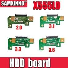 Nowy! Oryginalny Asus X555L X555LD X555LP A555L K555L Laptop HDD dysk twardy płyta X555LD REV:2.0 3.1 3.3 3.6 1.1 interfejs