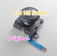5 pces para nintendo interruptor alegria con controlador ns reparação parte 3d joystick com cabo flexível alegria con original novo