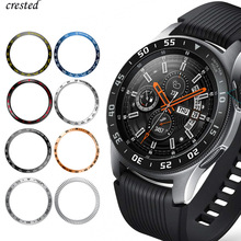 Metal-Case Bezel-Ring-Accessories Sport-Adhesive-Cover Galaxy Watch Gear S3 Samsung Frontier/classic
