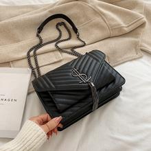 2019 nowe luksusowe torebki damskie torebki projektant torebki na ramię wieczorowa kopertówka torby kurierskie crossbody dla kobiet torebki tanie tanio Torby na ramię Na ramię i torby crossbody Flap WOMEN Zipper hasp Miękkie Stałe Klapa kieszeni Pojedyncze Moda Wnętrze slot kieszeń