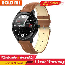 L9 Smart Watch men OLED Color Screen waterproof Smartwatch music control Fitness Tracker Heart Rate monitor pk L8 Q8
