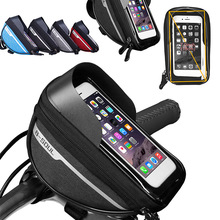 Waterproof Bag Bolsa Bicycle-Bag Bike-Phone-Holder Bicicleta Mountain-Bike Mobile Touchscreen