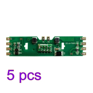 Image 1 - 4/5/10pcs 1:87 HO Scale Upgraded PCB Board Part with Resistance for HO Scale for Bachmann Model Building Kit