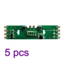 4/5/10pcs 1: escala HO 87 Atualizado Placa PCB Parte com a Resistência para a Escala HO para Bachmann Kit Modelo de Construção