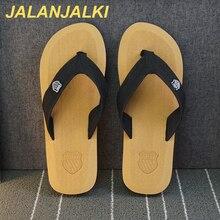 Male Sandals Flip-Flops Light-Weight Men Slippers JALANJALKI Outdoor Beach Casual Summer