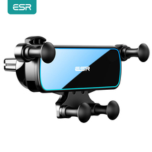 ESR Car Gravity Phone Holder Gravity Stand For iPhone XIAOMI Huawei Mobile Phone Holder Universal  in Car Air Vent Clip Mount