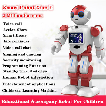 Voice-Controlled Robot child Learning Machine Singing Dancing Action Performance Smart Robot 2 Million Camera Robots toys gifts