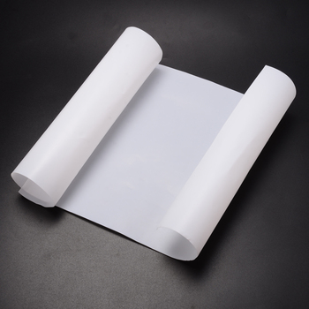 1Pcs 500x250x0.3mm White PTFE Film/Sheet Virgin High Strength Temperature For Industry Power Tools