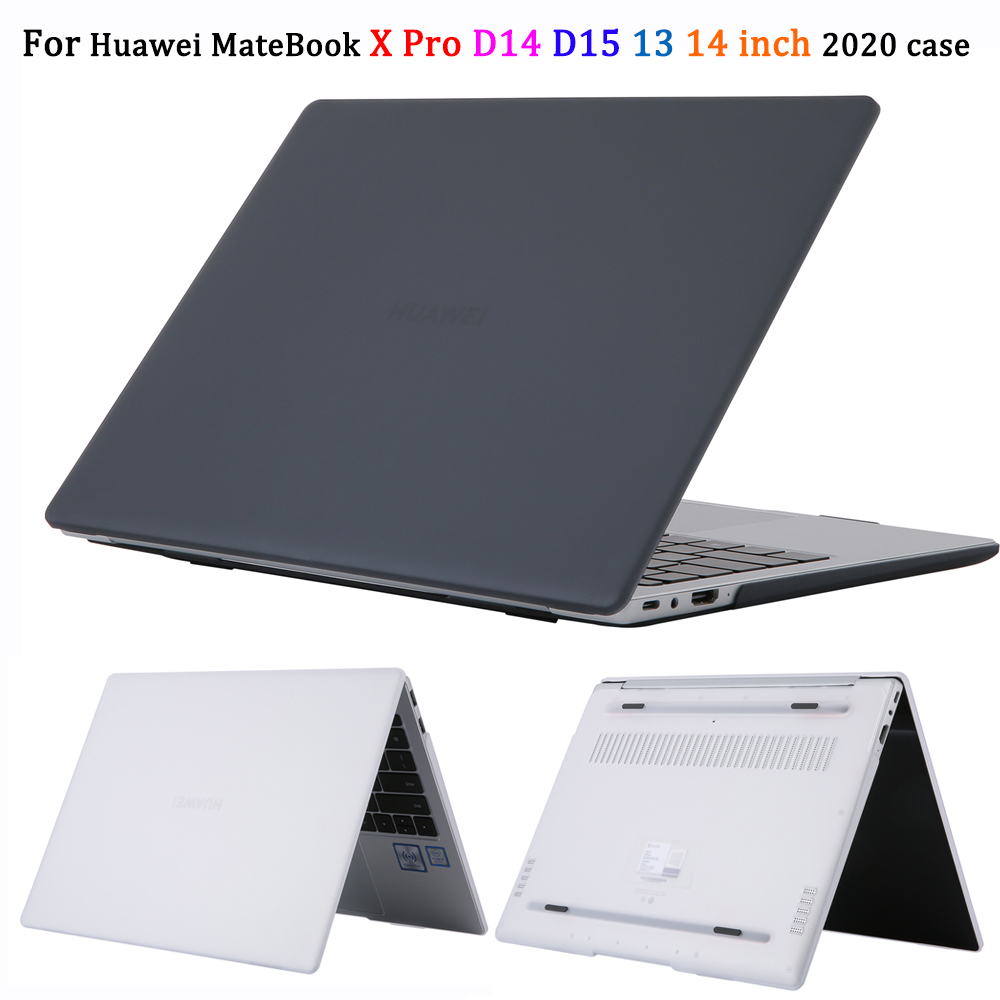 Case For Huawei MateBook X Pro D14 D15 13 14 Inch 2020 Laptop Case Crystal Cover For Huawei Honor MagicBook 14 15 2019 Case