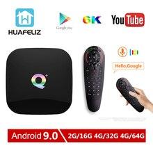 2019 Q Plus Android 9.0 tv box 4GB 64GB TV