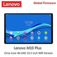 Lenovo tablet M10 PLUS MediaTek P22T Octa rdzeń 4G RAM 64G ROM 10.3 cal WIFI Android 9 TDDI FHD 10 punkt dotykowy tablet PC