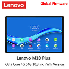 Lenovo tablet m10 plus mediatek p22t octa núcleo 4g ram 64g rom 10.3 polegada wifi android 9 tddi fhd 10 ponto toque tablet pc