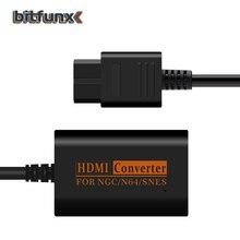 Convertisseur HDMI pour Nintendo 64/SNES/NGC/SFC Gamecube 1080P câble rétro console de jeu vidéo HD