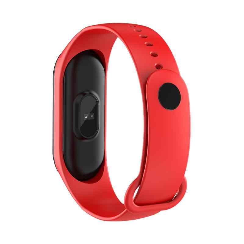 M4 Bracelet intelligent Sport podomètre Fitness Tracker moniteur de fréquence cardiaque Bracelet intelligent pression artérielle montre intelligente marche pas compteur