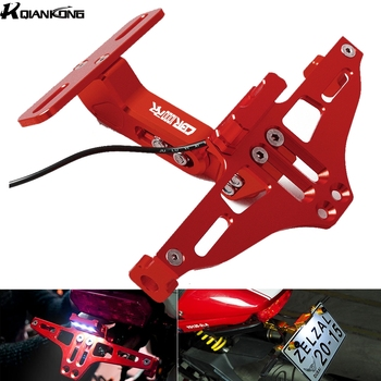 Motorcycle License Plate Bracket Licence Plate Holder Frame Number Plate For Honda CBR1000RR CBR 1000RR 2004-2016 2015 2008 image