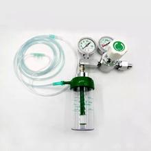 Medical Oxygen Regulator CGA540 With Double Gauge Flow Meter Regulator High Pressure For for Oxygen Cylinder 4000psi