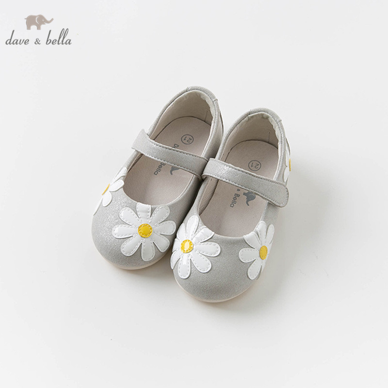 DB13749 Dave Bella Spring Autumn Baby Girl Leather Shoes Children Brand Shoes