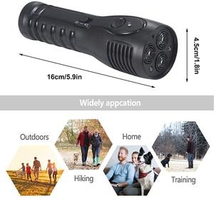 Image 5 - Benepaw Rechargeable Ultrasonic Dog Repellent LED Flashlight Handheld Anti Barking Device Safe Pet Training Aid Good Behavior