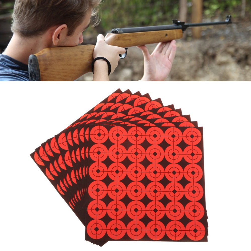 900pcs Shooting Target Stickers Round Patches Self Adhesive Target Paster