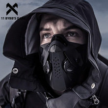 11 BYBB'S DARK Hip Hop Streetwear Patchwork Face Mask 2020 Tactical Function Personality Riding FACE Mask Dustproof Unsiex