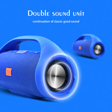 Profesional IPX7 Portable Tahan Air Outdoor HI FI Kolom Nirkabel Bluetooth Speaker Subwoofer Suara Kotak Mendukung FM Radio TF Mp3(China)