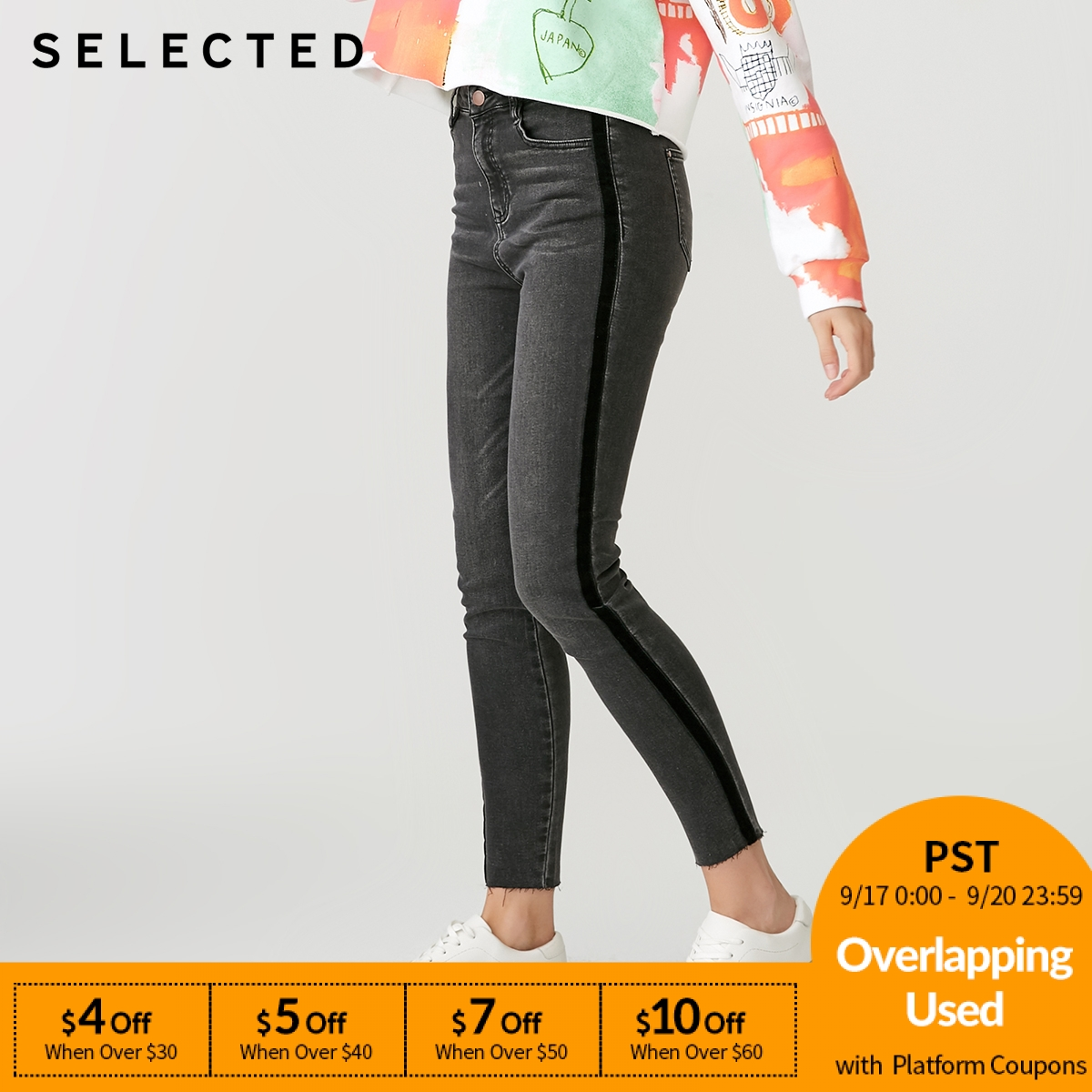 SELECTED Women's Slim Fit Vintage Casual   Jeans   S 418432515