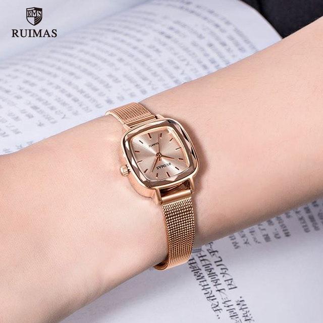 Ruimas Woman Watches Rose Gold Women