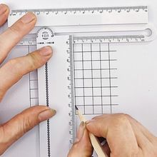 1pcs Simple Style 30cm Transparent Rectangle Ruler Protractor Student Stationery Drawing Tool Supplies Q1JC