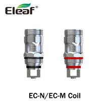 5 sztuk partia oryginalny Eleaf EC-M EC-N 0 15ohm cewki E Cig EC wymiana rdzenia głowy Fit MELO 5 zbiornik Eleaf iJust ECM Atomizer Vape tanie tanio Eleaf EC-M EC-N Coils DS NC