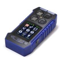 4 в 1 Портативный детектор газа кислорода O2 H2S Угарный газ CO горючих газов анализатор ядовитых газов и Вредных Детектор Утечки Газа