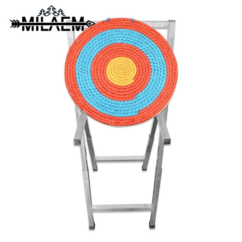 Tir à l'arc cible cadre détachable étagère visée Rack jouet pour tir à l'arc jeu arc et flèche tir cible étagère pliable visée Rack