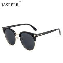 JASPEER New Sunglasses Men Brand Designer Sun Glasses Women Super Star Celebrity Driving Sunglasses Tom for Men Eyeglasses цены