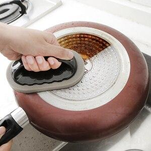Image 2 - Strong Decontamination Bath Brush Sponge Tiles Brush Hot Sale Magic Strong Decontamination Bath Brush Kitchen Clean Tools