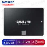 SAMSUNG SSD 1TB 860 EVO 250GB 500GB Interne Solid State HHD Festplatte ssd SATA 3 SSD festplatte 1TB hd ssd 2,5 für laptop computer