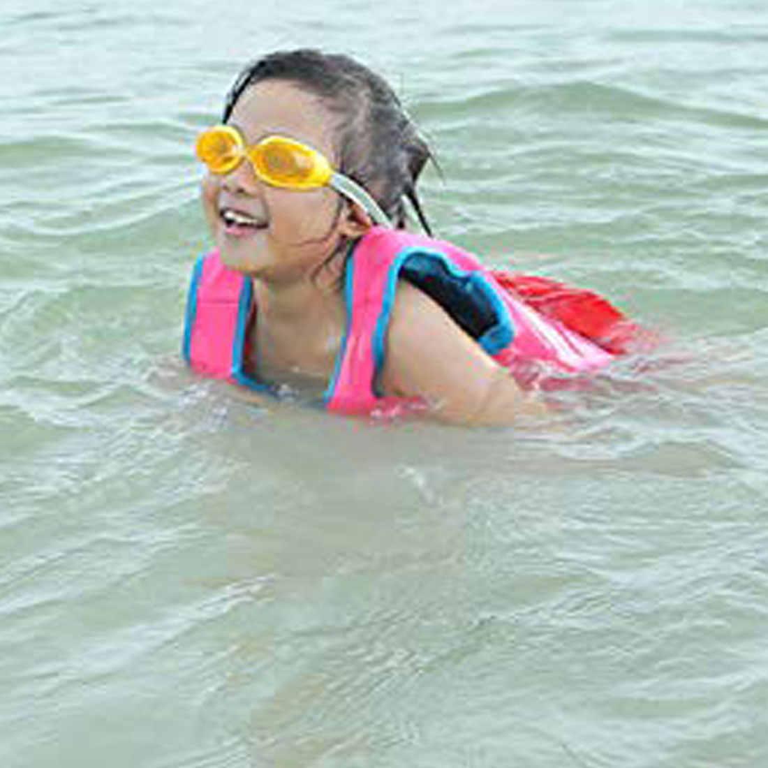 เด็กว่ายน้ำลอยเสื้อกั๊ก Thicken ชุดว่ายน้ำเด็กเสื้อชูชีพลอยชุดว่ายน้ำลอยสระว่ายน้ำอุปกรณ์เสริม