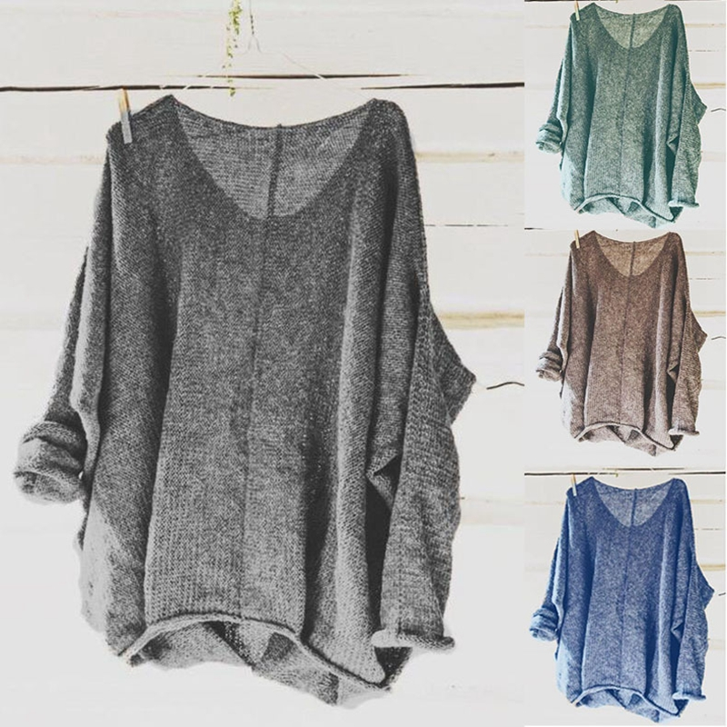 2019 Winter Korean Sweater Clothes Women Knit  Ugly Pullover Plus Size Oversized Off Shoulder Crop Christmas Invierno Clothes