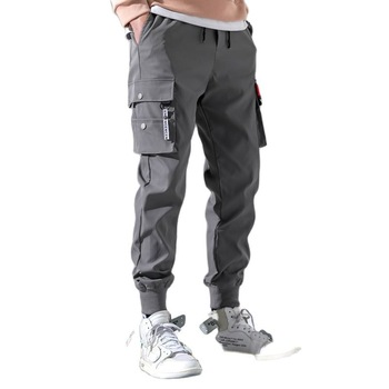 2021 Spring Summer Cargo Pant Men Joggers Harajuku Sport Thin Jogging Trousers Male Tactical Overalls Men's Tracksuit Clothing 1